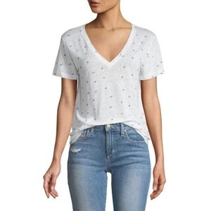 Rails cara butterfly printed tee